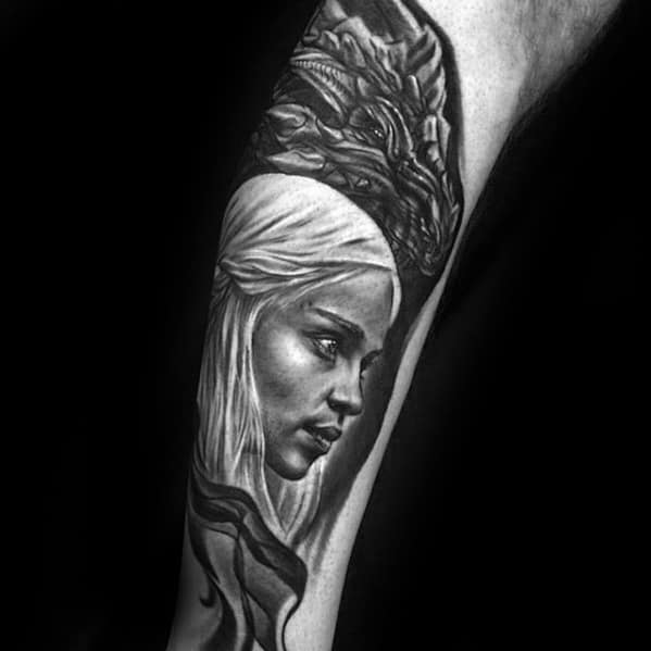 Daenerys Targaryen Game Of Thrones Male Tattoo Ideas