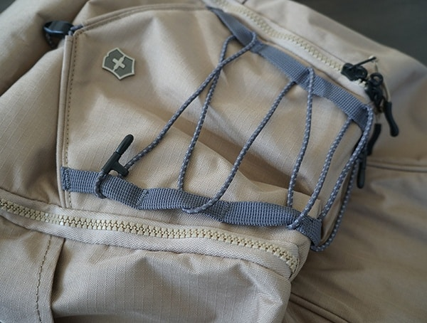 Daisy Chain Acessory Cord Attached Victorinox Deluxe Rolltop Backpack