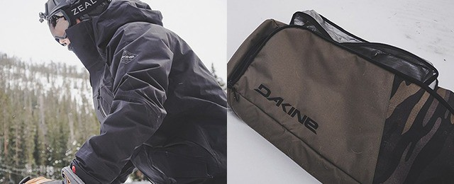 Dakine Winter Gear – Fall Line Ski Roller Bag, Sawtooth Jacket and Stoker Bib Review