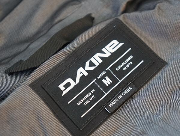 Dakine Sawtooth Gore Tex 3l Jacket Inner Tag