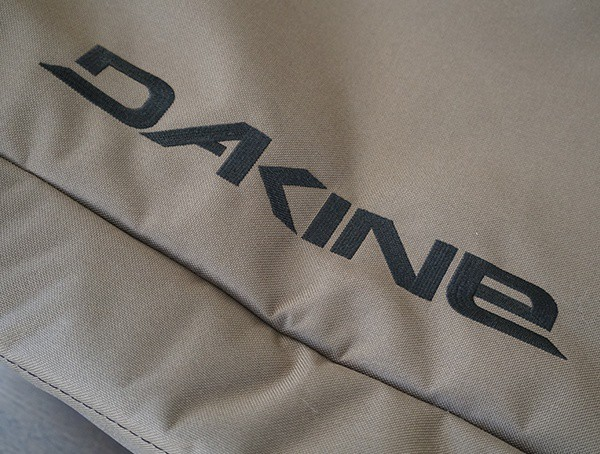 Dakine Stiched Logo On Side Of Fall Line Ski Bag
