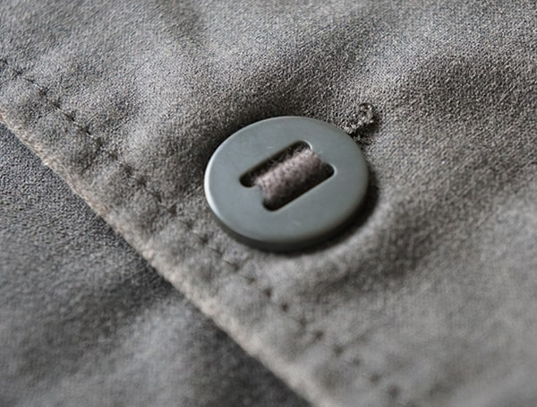 Dakota Grizzly Tripp Mens Travel Coat Button Detail With Tobacco Brown Stiching