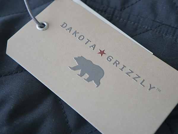 Dakota Grizzly Vic For Men Tag Onyx Vest