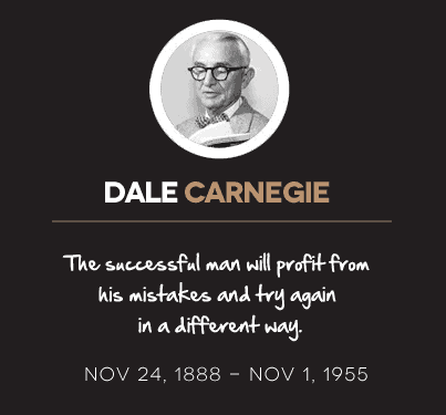 Dale Cargegie Quotes