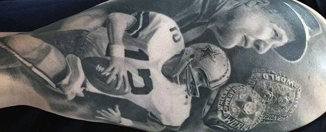 Dallas Cowboys Tattoos For Men