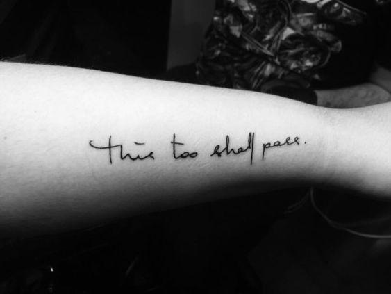 Damada Script Tattoo
