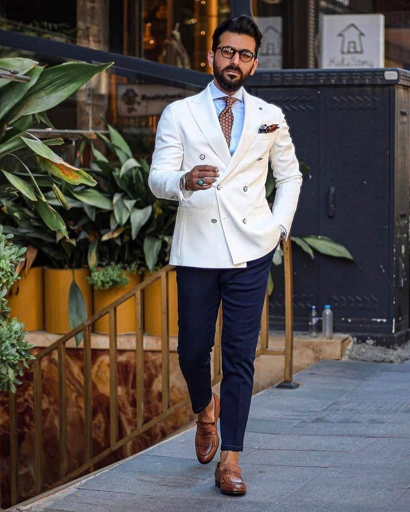 Dandy Style Men Suit Outfit