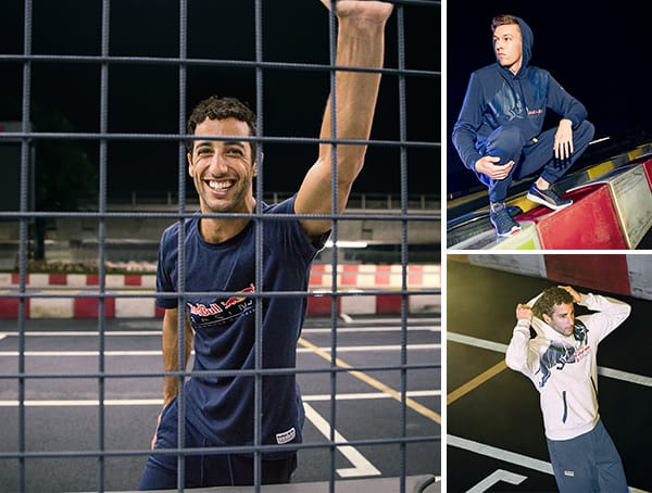 Daniel Ricciardo And Daniil Kvyat For Red Bull Puma Formula 1 Racing