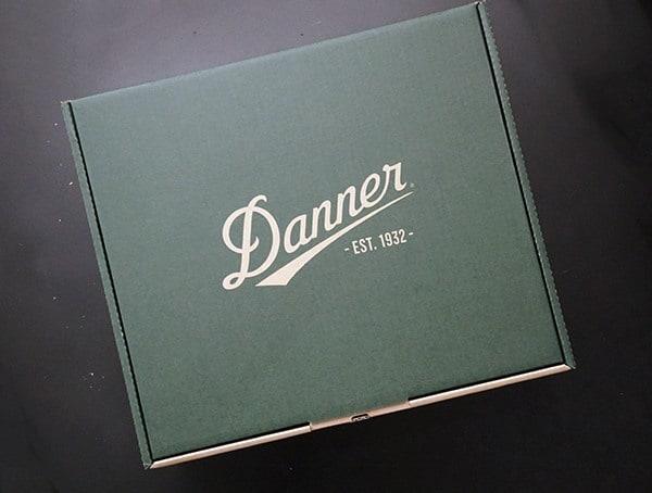 Danner Boots Shoe Box