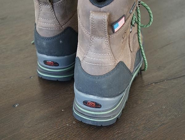 Danner Crag Rat Usa Boots For Men Brown Green Rear