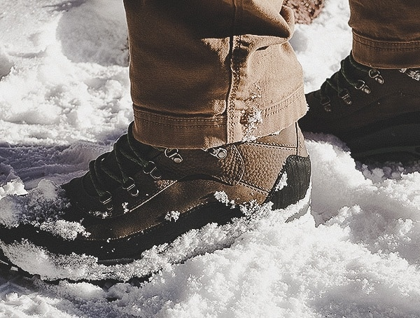 Danner Crag Rat Usa Boots For Men Outdoor Field Test In Snow