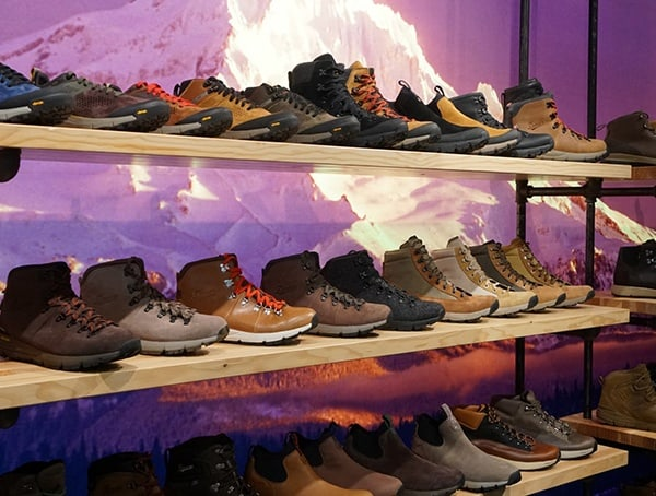 Danner Footwear Collection At Outdoor Retailer Winter Market