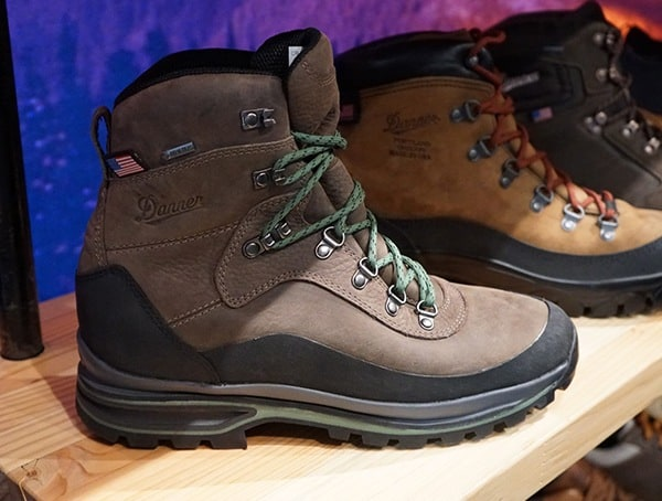 Danner Hunting Boots With Green Laces