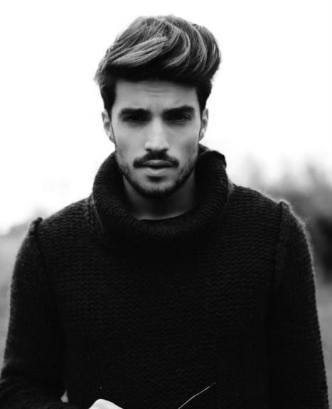 Dapper Hairstyles For Mens Medium Hair