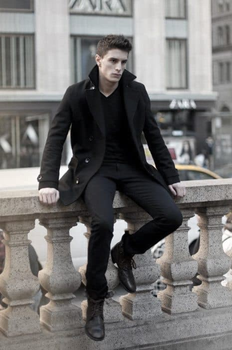Dapper How To Wear Mens Boots Outfits Styles Black Color