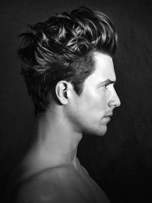 Dapper Medium Haircuts For Men With Thick Hair