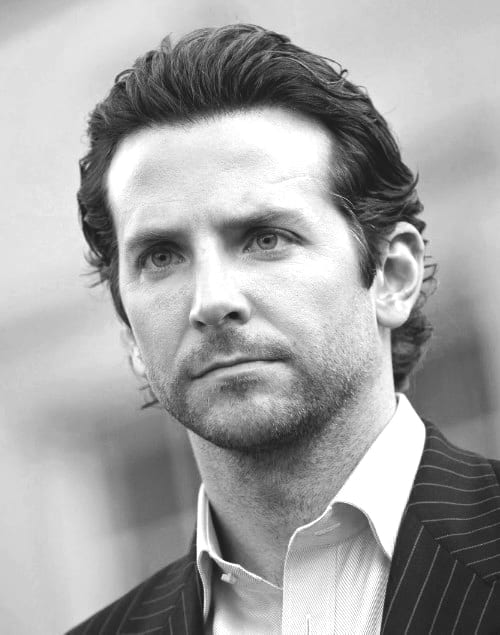 Dapper Mens Bradley Cooper Business Hair