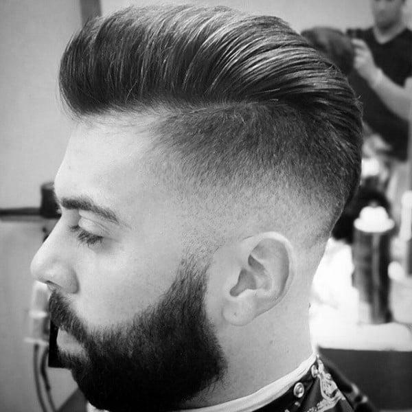 Dapper Mens Hair Mid Skin Fade
