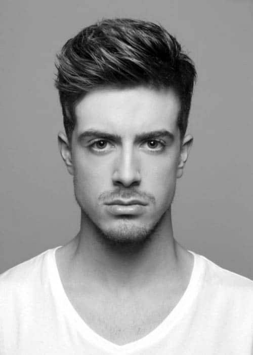 short haircuts for men with thick hair 75 s medium hairstyles for thick hair manly cut ideas 1899 | dapper mens hairstyles for medium short thick hair
