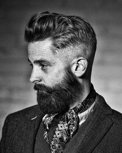 Dapper Mens High Fade Hairstyles