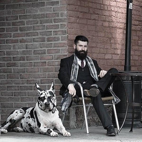 Dapper Mens Manly Beard Style Ideas