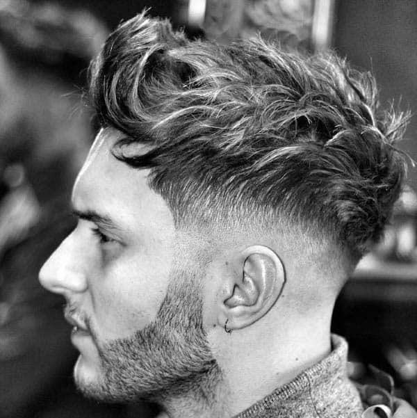 Dapper Mens Medium Length Hairstyles For Wavy Hair