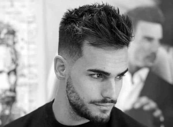 Der Mens Thick Short Hairstyles