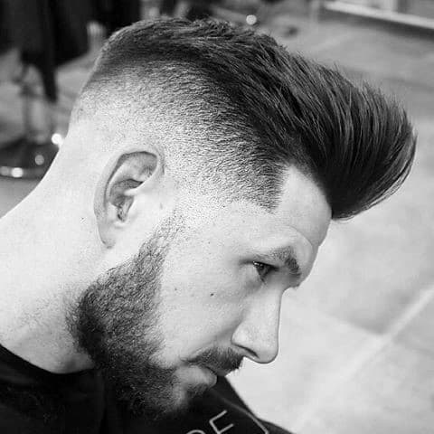 Dapper Mens Undercut Hairstyle