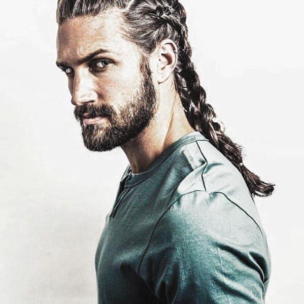 Dapper Slick Mens Beard With Short Style