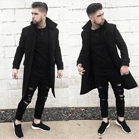 Dapper What To Wear With Mens Black Ripped Jeans Outfits Styles