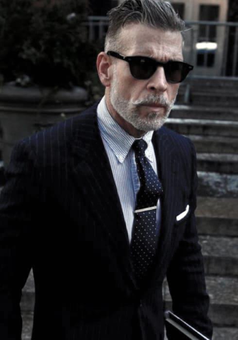 Dappper Mens Grey Beards Styles
