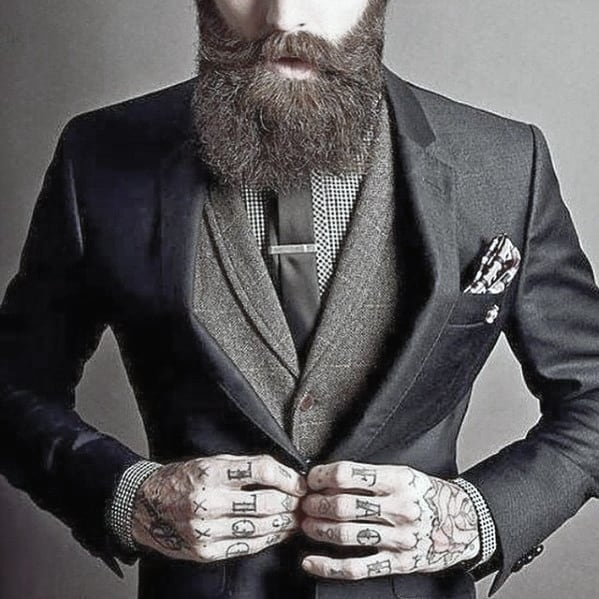 Dappper Mens Professional Beards Styles