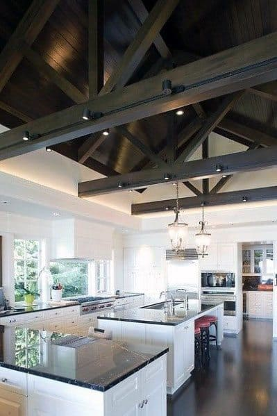 Dar Wood Kitchen Unique Vaulted Ceilings