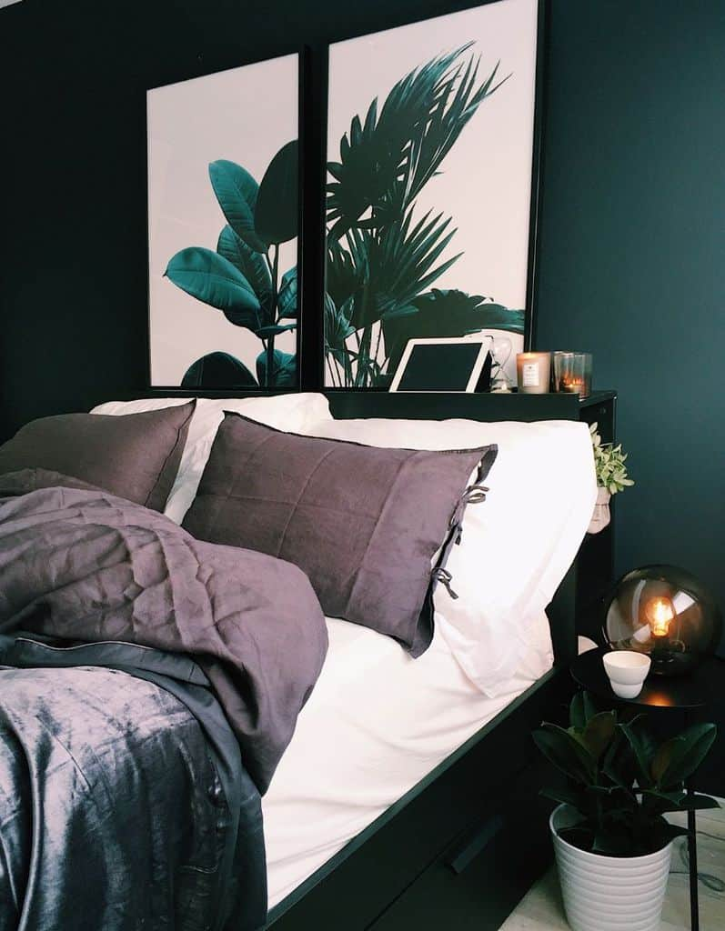 dark bedroom paint ideas 2