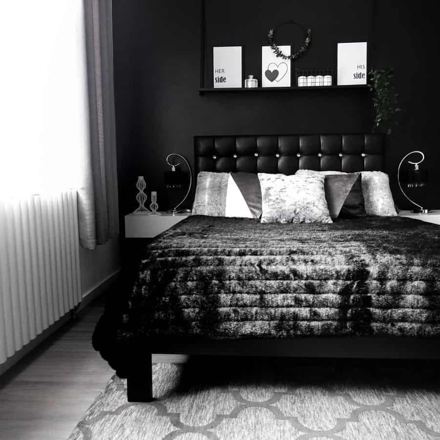 dark black and white bedroom ideas zaneta_wu_