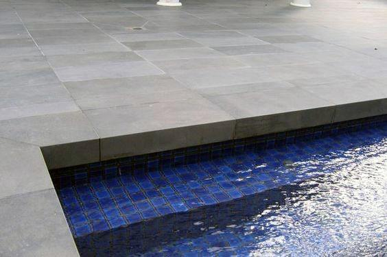 Dark Blue Mosaic Glass Tile Ideas