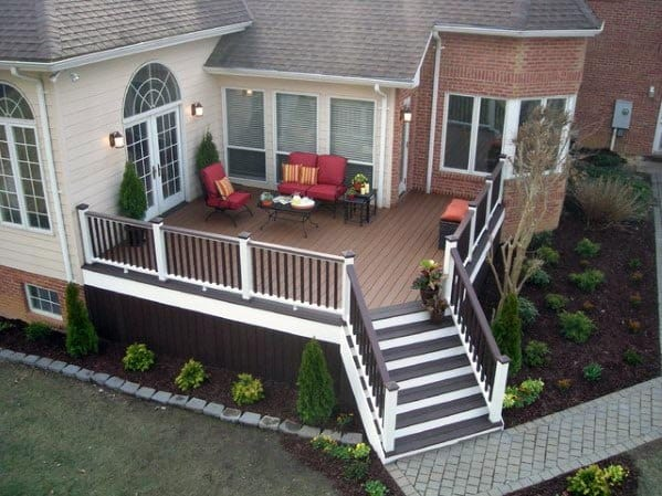 Dark Brown Composite Deck Skirting Ideas Inspiration