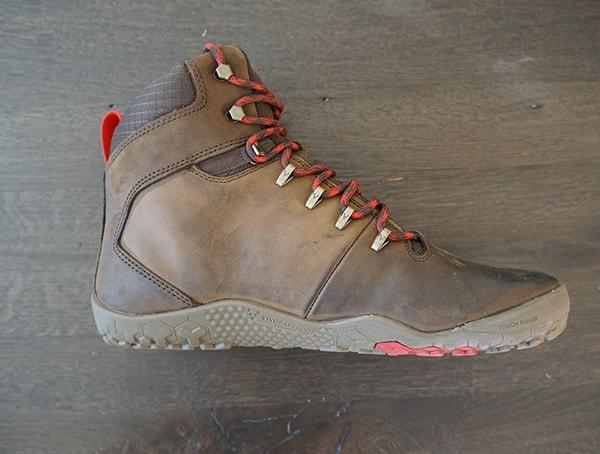 Dark Brown Mens Vivobarefoot Tracker Fg Boots