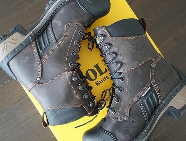 Dark Brown Mens Work Boots Carolina Maximus 2 0