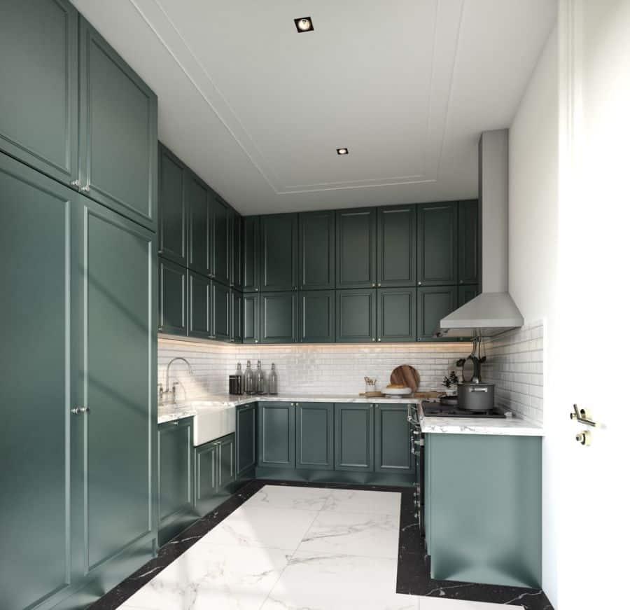 Dark Cabinets Kitchen Paint Colors 1