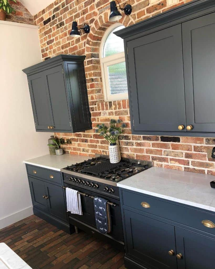 Dark Cabinets Kitchen Paint Colors Ahomefitforkings