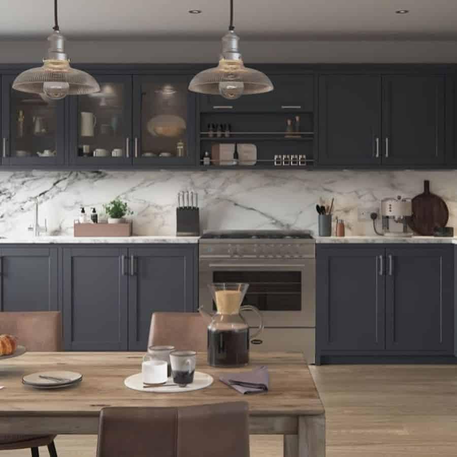 Dark Cabinets Kitchen Paint Colors Grappenhallkitchens