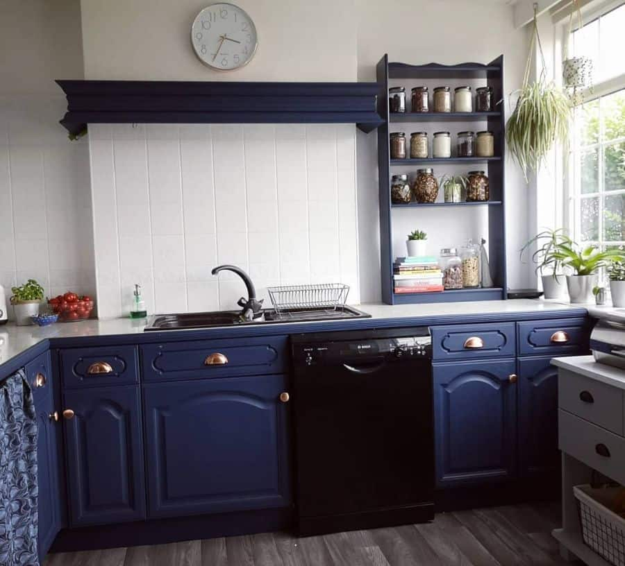 Dark Cabinets Kitchen Paint Colors House N3 To Home Of 3