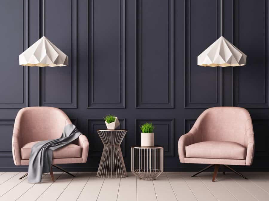 Dark Colors Living Room Paint Ideas 1