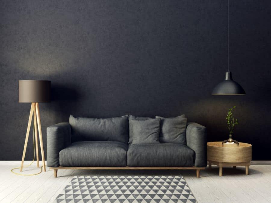 Dark Colors Living Room Paint Ideas 2