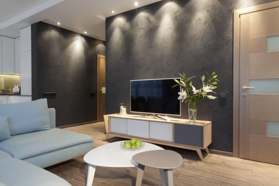 Dark Colors Living Room Paint Ideas 3