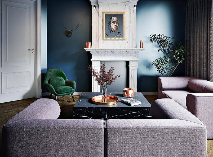 Dark Colors Living Room Paint Ideas Isr.design