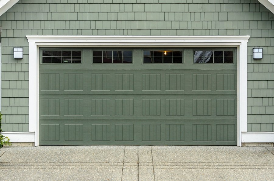 Contemporary Glass Garage Door Ideas