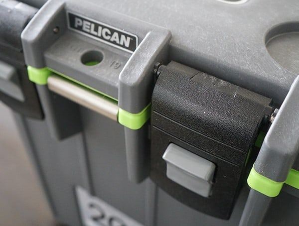 Dark Grey Green Pelican 20 Qt Elite Cooler