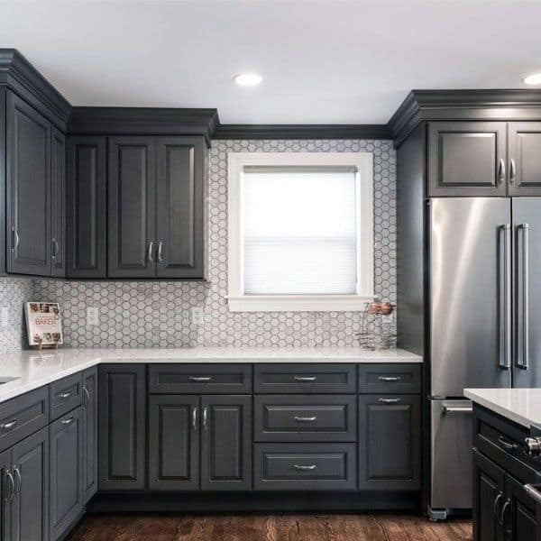 Top Best Kitchen Cabinet Ideas Unique Cabinetry Designs - Grey kitchen cabinets ideas